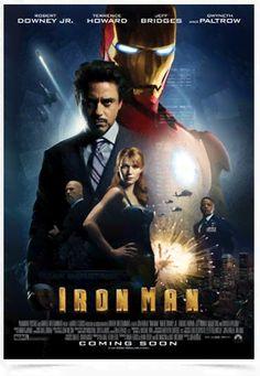 Poster Cinema Filme Iron Man - Comprar em Decor10