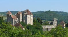 Château des Plas à Curemonte (Corrèze, France) CC-BY-SA MOSSOT
