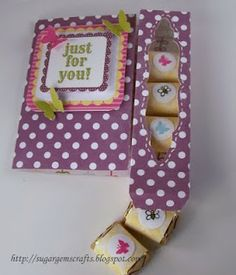 tutorial candy gift