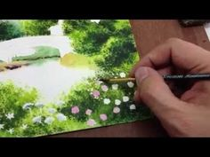How to paint view in watercolor Part 3 - YouTube