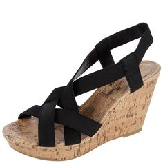fe1e1c2b2d Be casual and carefree this #summer in these stylish #wedges! Shoes Flats  Sandals