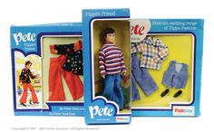 View Search Lots - Vectis Toy Auctions Palitoy Pippa Doll Pete Pippa's friend with two carded outfits.