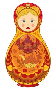 Russian doll national symbol Matryoshka