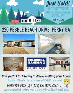 Just SOLD this 2 Bdrm/2 Bath home in Houston Springs Subdivision, Perry GA 31069 (MLS # 123262)