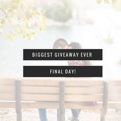 """Today is the day!  The final day of my Biggest Giveaway Ever.  Need a recap?  Sure.  1 - Like me on IG and FB 2 - Go to my website and fill out your engagement story 3 - Tag your entourage on my IG post with Brooke & Matt's wedding invitation image 4 - Email me with the one thing you're looking forward to most on your wedding day 5 - Groom video of when he realized his bride was """"the one""""  Can you start everything today?  Absolutely!  Have you done everything but the groom video? C'mon!! Get…"""