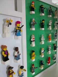 365 DAYS OF PINTEREST CREATIONS: day seventy: lego minifig storage :)