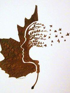Des feuilles pas mortes du tout…