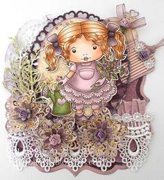 JenniferD's Blog: La-La Land Crafts - Add Roses