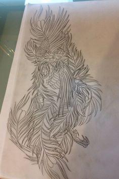 Phoenix tattoo #1