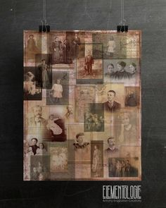 Exclusive deisgns from the Elementologie® StudioCreated from vintage images and documentsPrinted on Recycled Papers Collage Frames, Collage Artists, Collage Background, Paper Background, Photo Collage Board, Photo Postcards, French Artists, Vintage Paper, Vintage Images