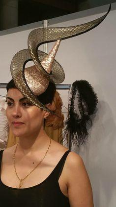 Vlad Straticiuc Make Your Own Hat, Fancy Hats, Macaroni Salad, Head Pieces, Bobbin Lace, Vintage Hats, Fascinators, Attic, Sculpting