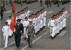 Fuzileiros Navais portugueses - Portuguese Marines - 14th July 2007 parade in Paris