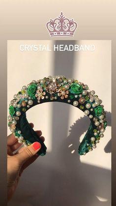 Crystal Headband, Pearl Headband, Diy Headband, Beaded Headbands, Rhinestone Headband, Handmade Headbands, Headbands For Women, Headbands For Short Hair, Sparkle Wedding