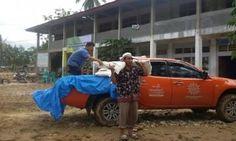 Hari Kedua Tanggap Darurat Bencana Sumbar, MDMC Sumbar Salurkan Bantuan ke Solok Selatan - minangkabaunews.com