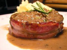 Lomo de cerdo con salsa madeira - Filete Mignon -