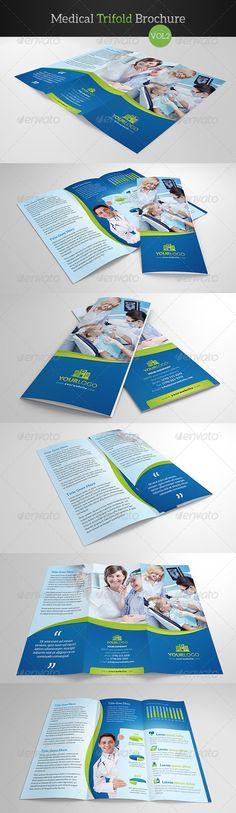 Medical Trifold Brochure Vol2  #graphicriver