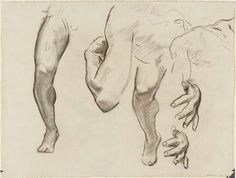 Inspirational Artworks: Sargent Drawings