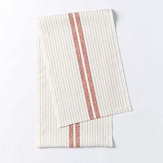 Belgian Flax Linen Table Runner #westelm