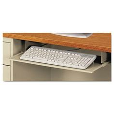 NEW - Steel Keyboard Drawer, 23 x 14, Putty - SD312314PO by ALERA. $107.97. 36. Reduce desktop clutter with this space-saving keyboard drawer. Durable steel construction with powder coated finish. Smooth operating friction slides. Color: Putty; Workstation Type: Straight.