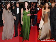 Vestidos longos para grávidas    http://villagebeaute.blogspot.com.br/2012/05/os-vestidos-longos-de-angelina-jolie.html