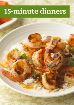 15-Minute Dinners -- Get dinner on the table in 15 minutes or less with these easy and delicious recipes.