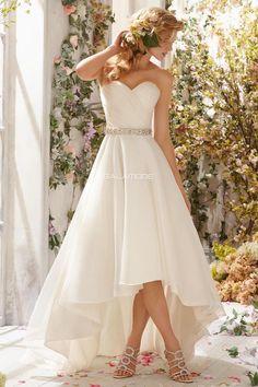Robe de mariée a-ligne en tulle fermeture eclair cache-cœur