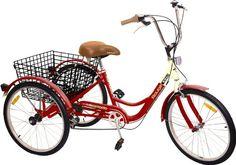 "Komodo Cycling 24"", 6-speed Adult Tricycle #7002 - Rouge Komodo Cycling http://www.amazon.com/dp/B00KDJC8YO/ref=cm_sw_r_pi_dp_Exa8tb1WJEF7B"