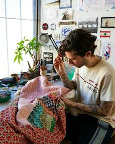 #jordannassar hashtag on Instagram • Photos and Videos Artist At Work, Embroidery, Photo And Video, Videos, Photos, Instagram, Needlepoint, Pictures, Crewel Embroidery