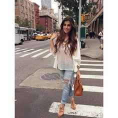 Cada passo que dou é um clique! NY, porque tão linda? Amando estar aqui depois de tanto tempo! • Sandália | Bolsa @corellooficial #NaheJadeOFFTONY