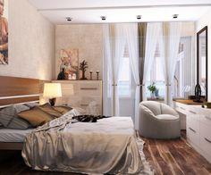 спальня, Однокомнатная квартира2, спальня, просмотров 10