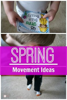 Get the wiggles out with these Spring based movement ideas. They are perfect for brain breaks! I love all the movement themes! I can't wait to do the mud theme! Therapy Activities, Preschool Activities, Preschool Art, Therapy Ideas, Physical Activities, Fine Motor Activities For Kids, Spring Activities, Sensory Motor, Sensory Play