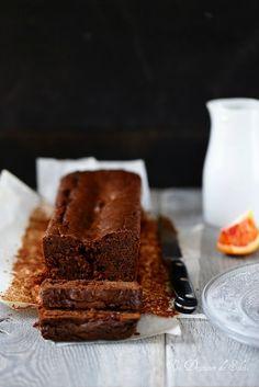 Gâteau fondant au chocolat et marmelade d'oranges