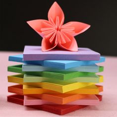 Origami Paper, 100 Pcs/set 10 Colors 12x12 cm Pure Color Folded Paper for DIY Craft by 1supply on Etsy