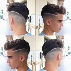 Men's Hair, Haircuts, Fade Haircuts, short, medium, long, buzzed, side part, long top, short sides, hair style, hairstyle, haircut, hair color, slick back, men's hair trends, disconnected, undercut, pompadour, quaff, shaved, hard part, high and tight, Mohawk, trends, nape shaved, hair art, comb over, faux hawk, high fade, retro, vintage, skull fade, spiky, slick, crew cut, zero fade, pomp, ivy league, bald fade, razor, spike, barber, bowl cut, 2018, hair trend 2017, men, women, girl, boy