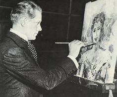 """Nelson Eddy was an artist and sculptor and he actually painted the portrait of Jeanette MacDonald that was used in the movie """"Sweethearts"""" (1938). But the fate of the that oil painting is unknown, as is the other known paintings he did of her over the years."""