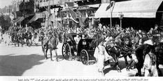 receving king victor emanuel of italy in cairo