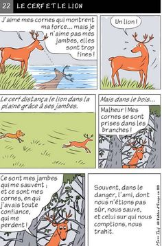 Fables D'esope, Teaching French, France, Comics, Inspiration, French Language, Languages, Sample Resume, Learn French