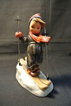 Vintage Goebel Hummel Figurine Skier 59 TMK 6   eBay