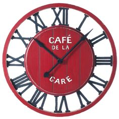 Horloge Café de la gare - (cuisine)