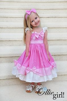 Ollie Girl collection.....if I ever had a girl, oh my word...these dresses are the cutest EVER!!!!