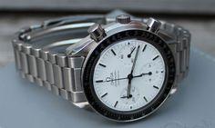 Omega Speedmaster Reduced White Dial