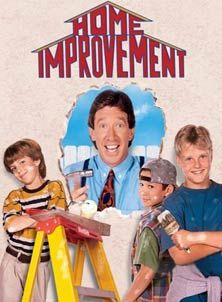 TV Show - Home Improvement, I use to watch this show for the BOYS! I had the biggest crush on Jonathan Taylor Thomas when I was a kid! LOL!
