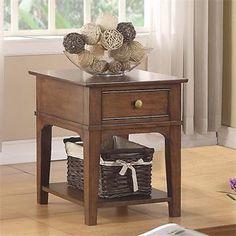 Marston End Table I Riverside Furniture
