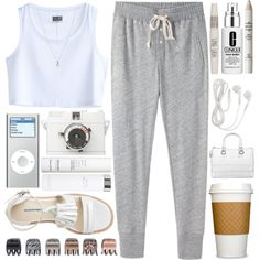 #200 Lazy day + My 200th set, created by berina-2000 on Polyvore