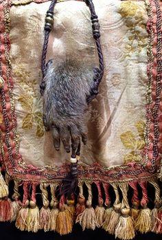 #sharespirit#monkey#hand#mexico#bag 猿の手の物入れ