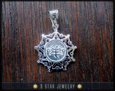 BPS23 925 Sterling Silver Baha'i Ring Stone Symbol by 9 Star Jewelry #bahai #bahairings #bahaipendants #bahaijewelry #9starjewelry