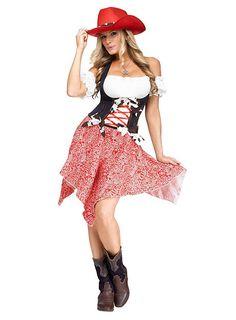 Fesches Cowgirl Kostüm ★ online kaufen ★ maskworld.com