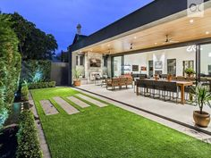 Malcolm Street, Millswood, SA View property details and sold price of Malcolm Street & other properties in Millswood, SA House Extension Design, House Front Design, Modern House Design, Outdoor Kitchen Design, Patio Design, Exterior Design, Future House, My House, Haus Am See