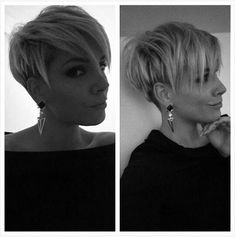 20 Dramatic Short Trendy Haircuts 20 Dramatic Short Trendy HaircutsHere are 20 d… – Best Haircut İdeas Pixie Hairstyles, Short Hairstyles For Women, Weave Hairstyles, Cool Hairstyles, Drawing Hairstyles, Saree Hairstyles, Hairstyles 2018, Casual Hairstyles, Bridal Hairstyles