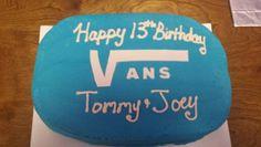 Vans board cake